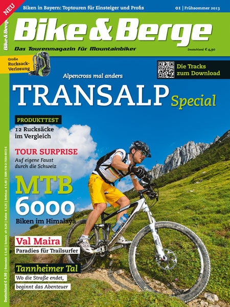 Bike und Berge - Cover Ausgabe 1
